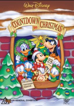 Mickeys Countdown To Christmas - DVD cover