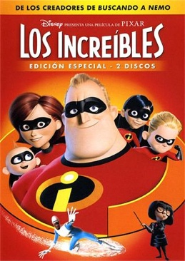 The Incredibles - DVD cover