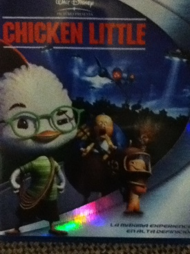 Chicken Little - Blu-ray cover