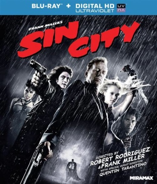 Sin City - Blu-ray cover