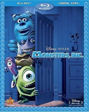 Monsters, Inc. - Blu-ray cover