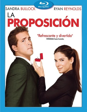 The Proposal - Blu-ray cover