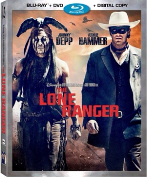 The Lone Ranger - Blu-ray cover