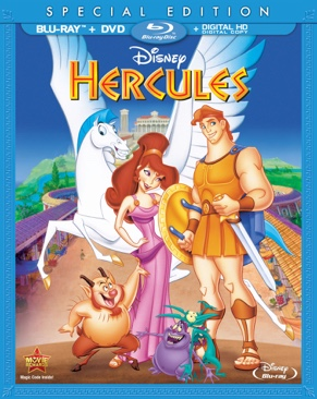 Hercules - Blu-ray cover