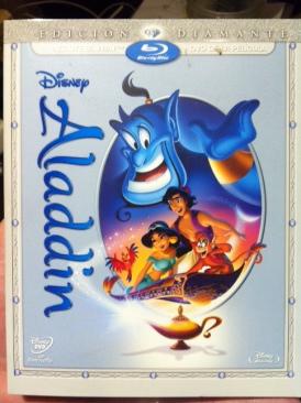 Aladdin - Blu-ray cover