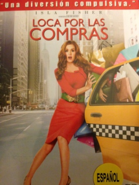 Confessions Of A Shopaholic - DVD cover