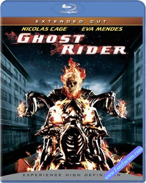Ghost Rider - Blu-ray cover