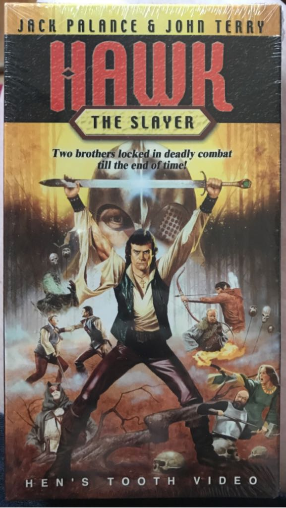 Hawk the Slayer -  cover