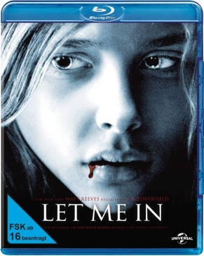 Let Me In - Blu-ray cover