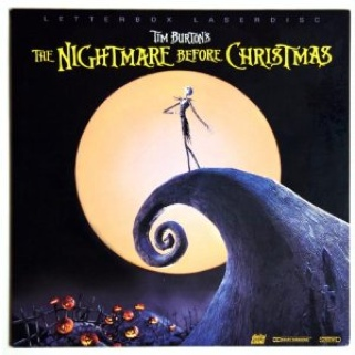 The Nightmare Before Christmas - Laser Disc cover