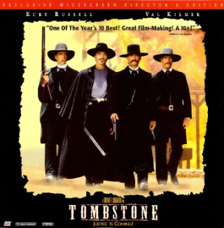Tombstone - Laser Disc cover