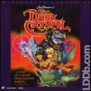 The Dark Crystal - Laser Disc cover