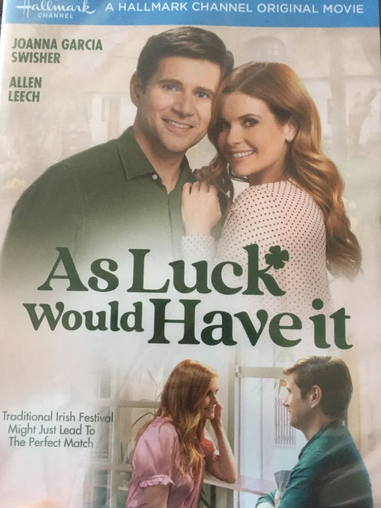 Hallmark As Luck Would Have It -  cover