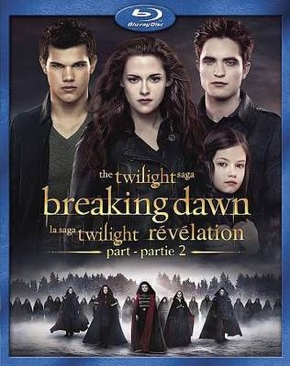 Twilight 4.2: Breaking Dawn Part 2 - Blu-ray cover