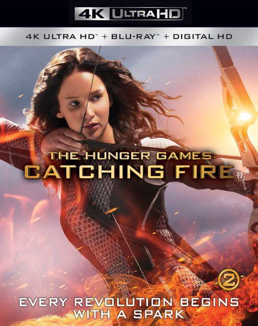 The Hunger Games: Catching Fire (4K) -  cover