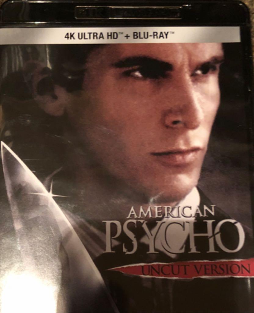 American Psycho 4K -  cover