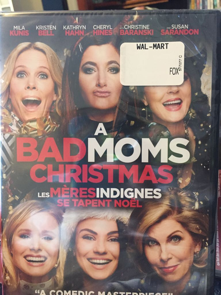 Bad Moms 2: A Bad Moms Christmas (dvd) -  cover
