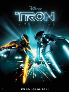 Tron Legacy - Laser Disc cover