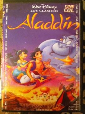 Aladdin - DVD-R cover