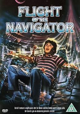 Flight of the Navigator - DVD-R cover