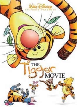 The Tigger Movie - VHS cover