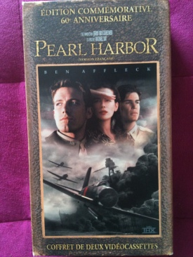 Pearl Harbor - VHS cover