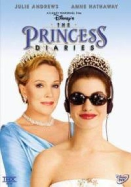 The Princess Diaries - DVD cover