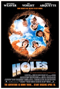 Holes - DVD cover
