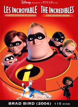 The Incredibles - DVD-R cover