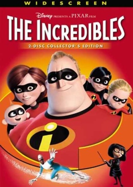 The Incredibles - Laser Disc cover