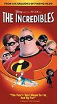 The Incredibles - VHS cover