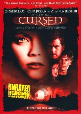 Cursed - Unrated - DVD cover