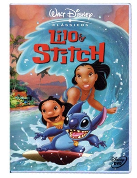 Lilo and Stitch - VHS cover