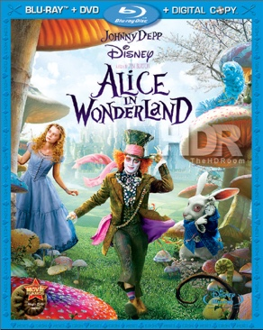 Alice in Wonderland 1 - Blu-ray cover