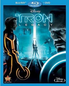 Tron: Legacy - Blu-ray cover
