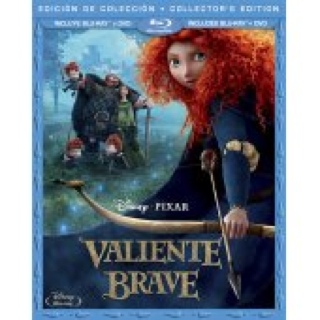 Brave - Blu-ray cover
