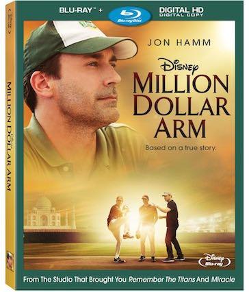 Million Dollar Arm -  cover