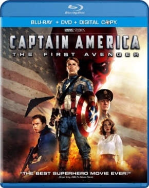 Marvel Captain America 1: The First Avenger - Blu-ray cover