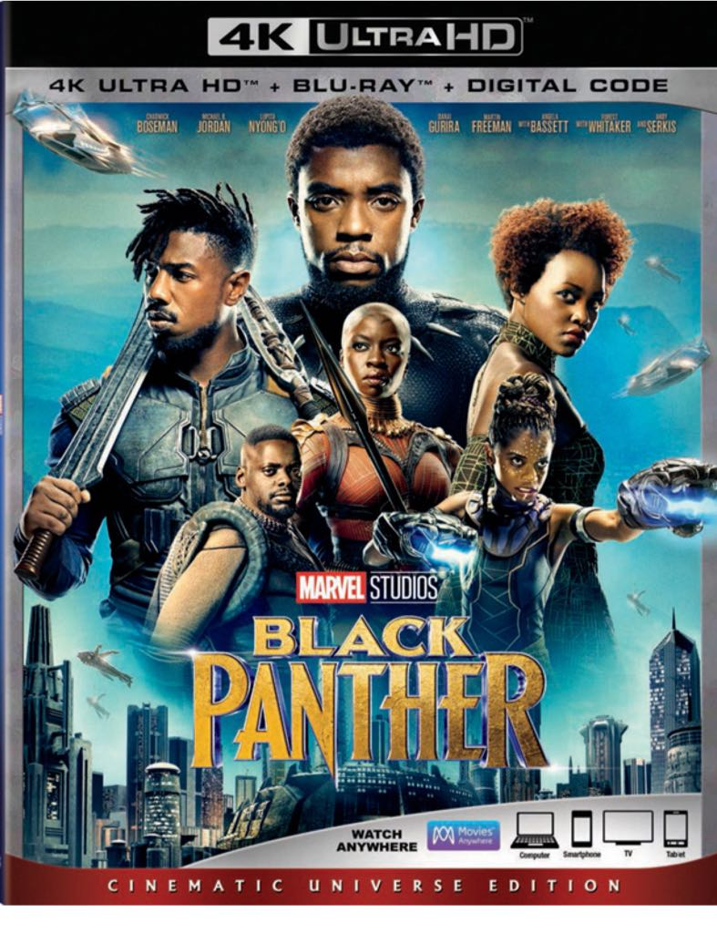 Black Panther (4K) -  cover