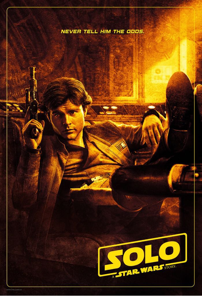 Star Wars: A Star Wars Story: Solo - Blu-ray cover
