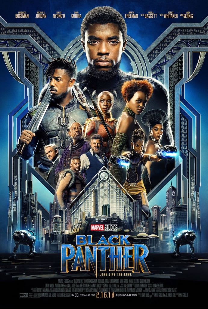 Black Panther - DVD cover