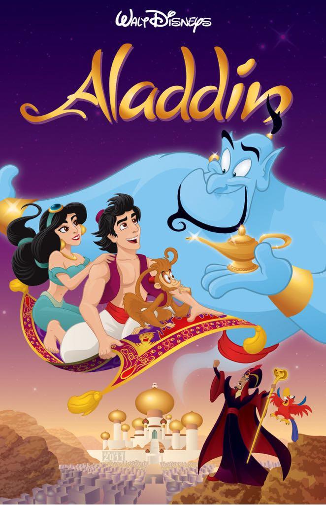 Aladdin (4K) -  cover