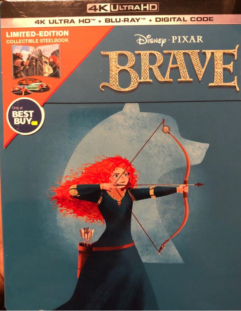 Brave [Steelbook] -  cover
