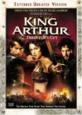 King Arthur - DVD cover