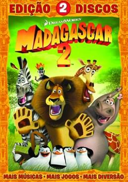 Madagascar: Escape 2 Africa - DVD cover