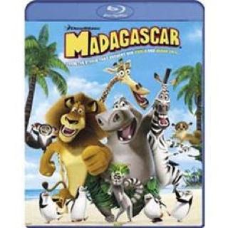 Madagascar - Blu-ray cover