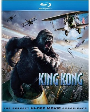 King Kong - Blu-ray cover