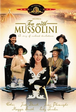 Tea With Mussolini - DVD cover