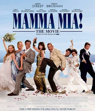 Mamma Mia! - DVD cover