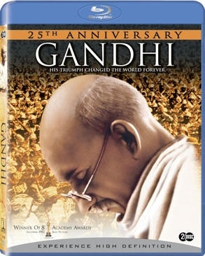Gandhi - Blu-ray cover